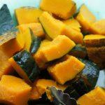 かぼちゃの煮つけ、皮を上にして煮てみたら・・・(笑)かぼちゃの煮物を上手に作る方法!