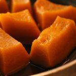 【後日談】かぼちゃの煮物成功!水少なめで、皮もはがれずおいしくできたよ!